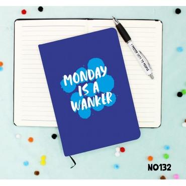 Monday Wanker Notebook