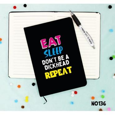 Eat Sleep Notebook