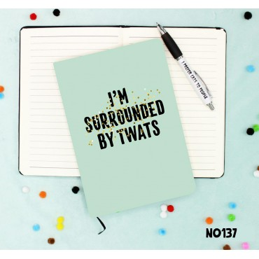 Surrounded Twats Notebook