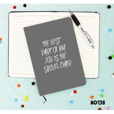 Swivel Chair Notebook