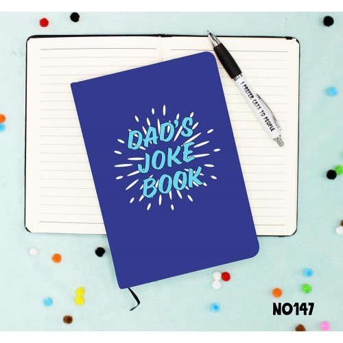Dad's Joke Book Notebook