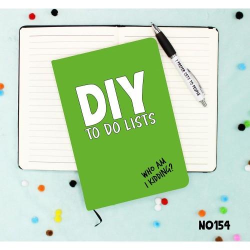 DIY Jobs Notebook