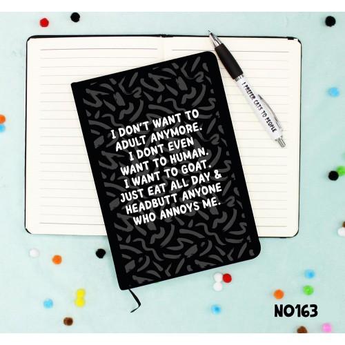 Goat Life Notebook