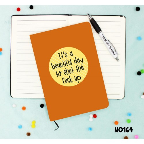 It's a Beautiful Day Notebook
