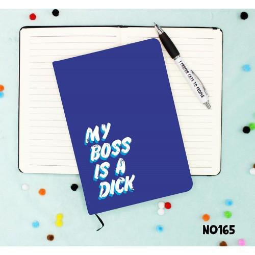 Boss Dick Notebook