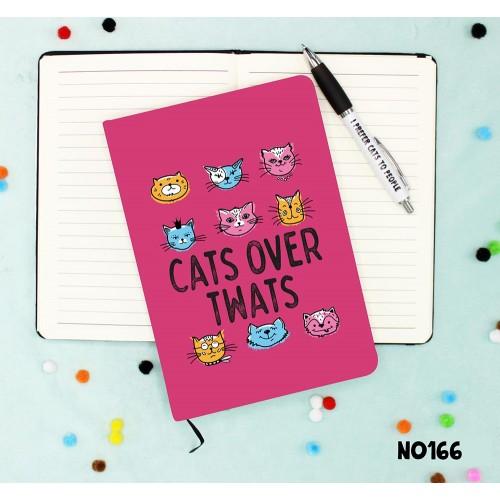 Cats Twats Notebook
