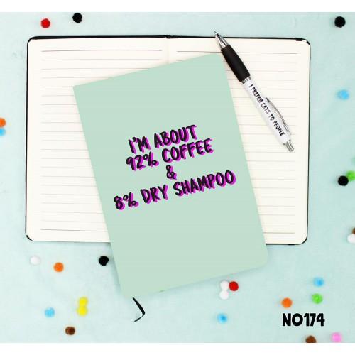 Dry Shampoo Notebook