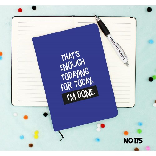 Enough Adulting Notebook