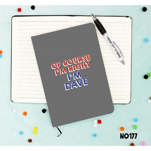 Dave Notebook