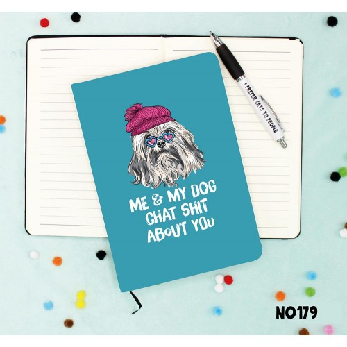 Dog Chat Notebook