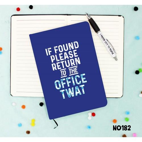 If Found Notebook