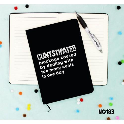 Cuntstipated Notebook