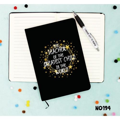 Greatest Teacher Notebook