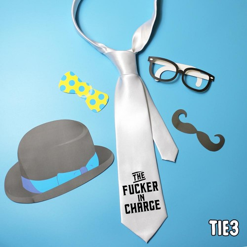 Fucker in Charge Tie