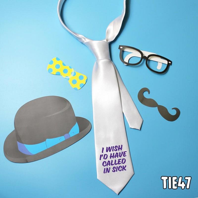 Called in Sick Tie