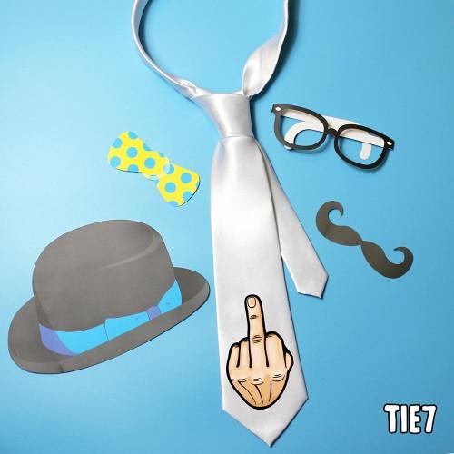 Middle FInger Tie