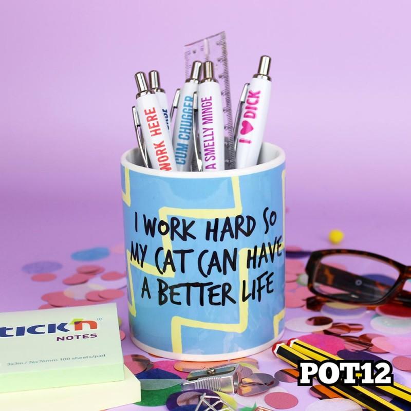 Cat Life Pot