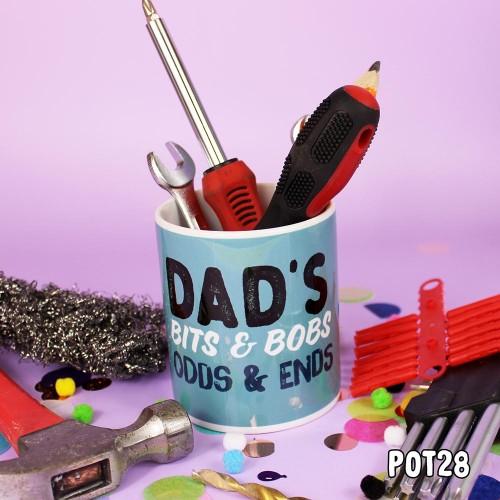Dad's Bits & Bobs Pot