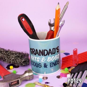 Grandad's Bits & Bobs Pot