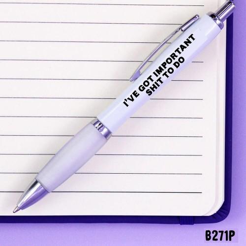 Important Shit Pen