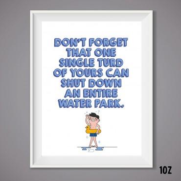 Single Turd Print