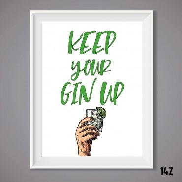 Gin Up Print