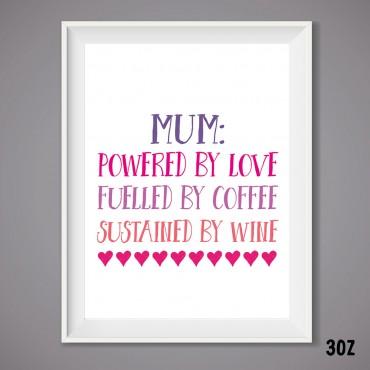Mum Power Print