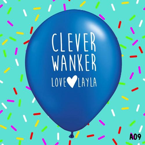 Clever Wanker - BLUE