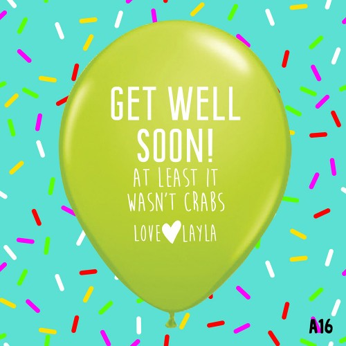 Get Well Soon - GREEN