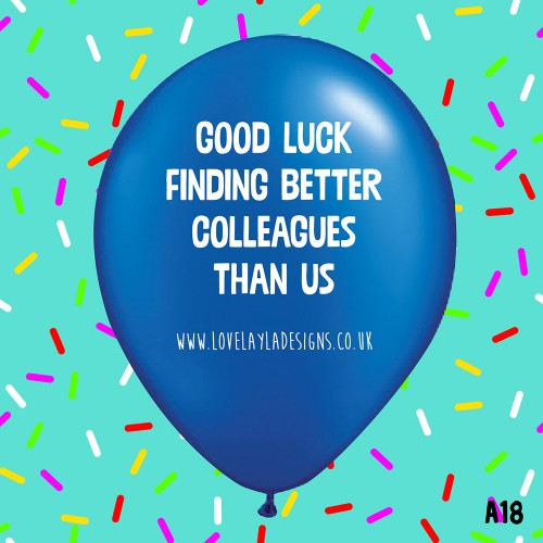 Good Luck - BLUE