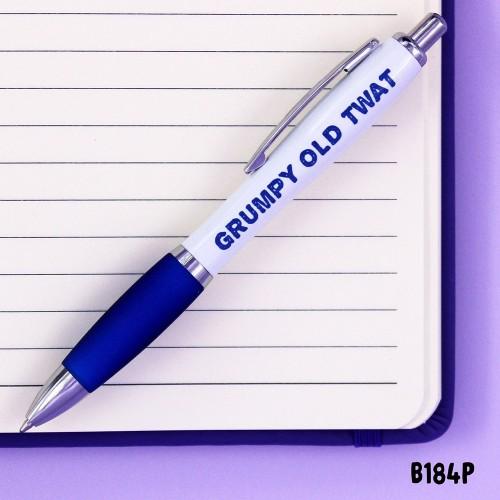 Grumpy Old Twat Pen