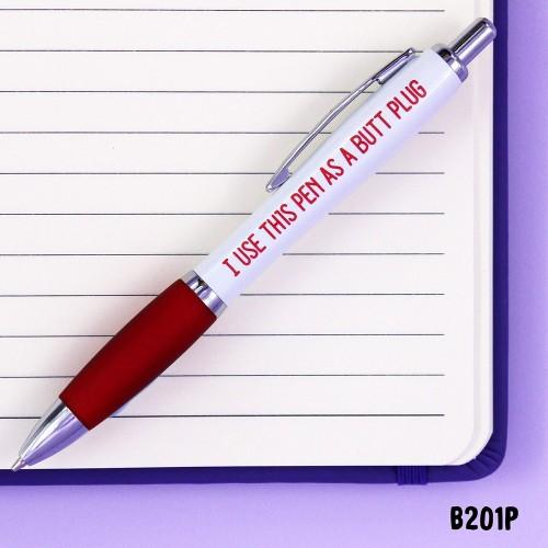 Butt Plug Pen
