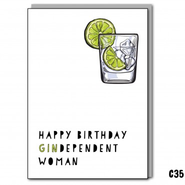 Gindependent Woman