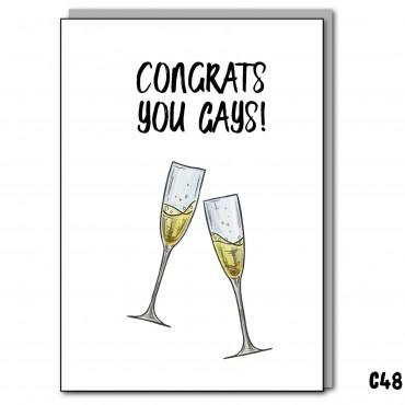 Congrats You Gays
