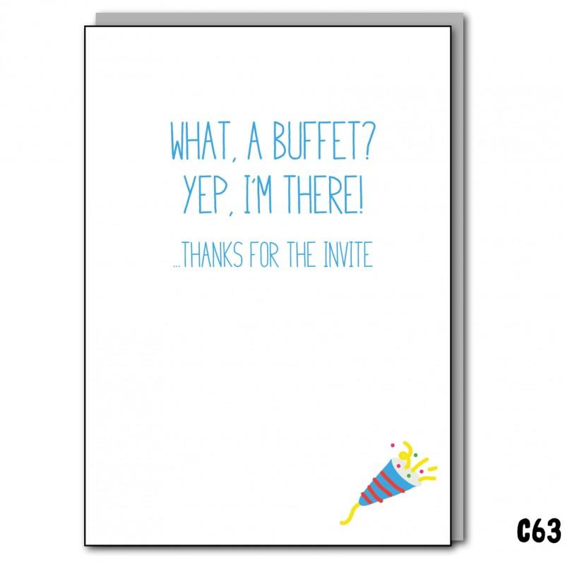 A Buffet? Yep. e-Card