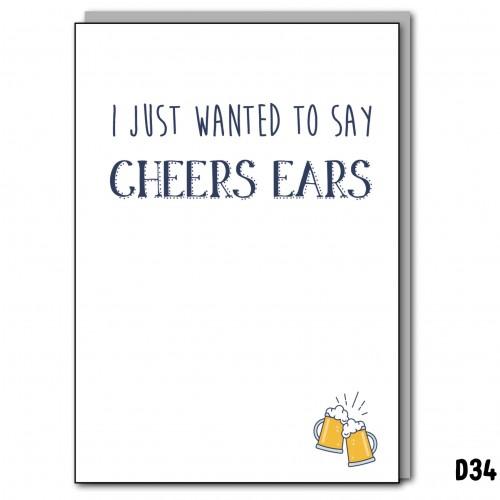 Cheers Ears