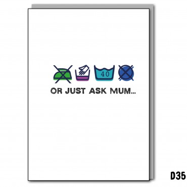 Or just ask Mum...