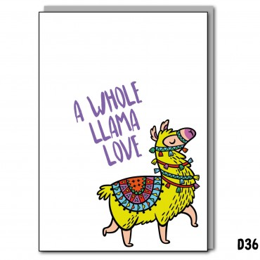 Whole Llama Love