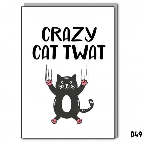 Crazy Cat Twat