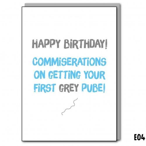 Grey Pube