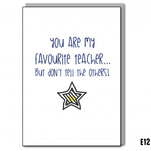 Favourite Teacher