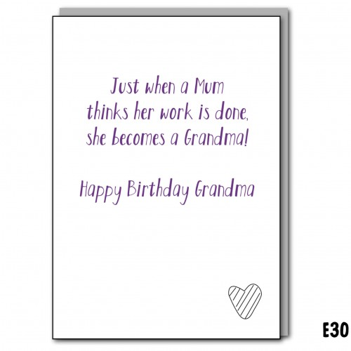 Hard working Grandma
