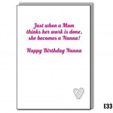 Hard working Nanna