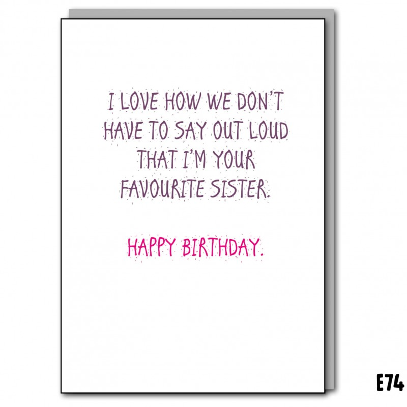Favourite Sister