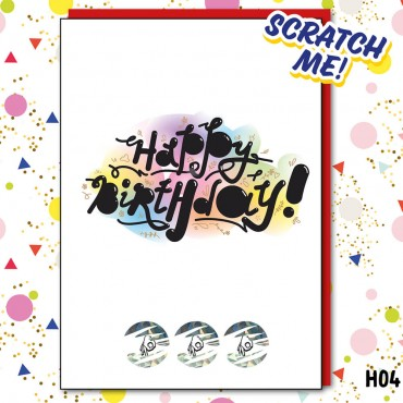 Happy Birthday ScratchCard