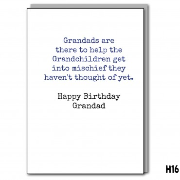 Mischief Grandad