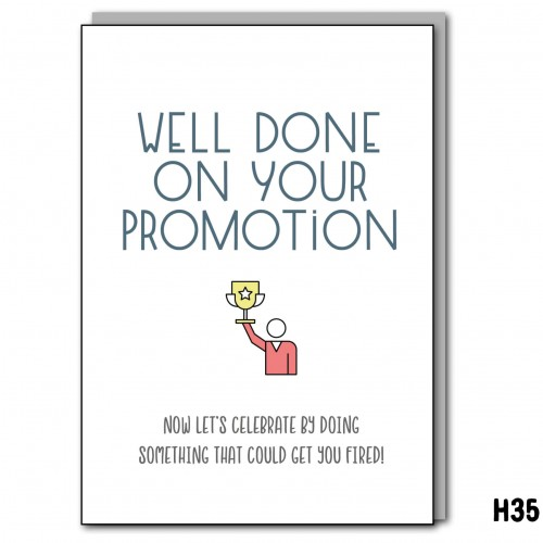 Promotion Fired