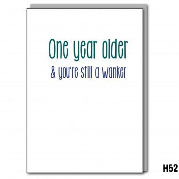 Older Wanker