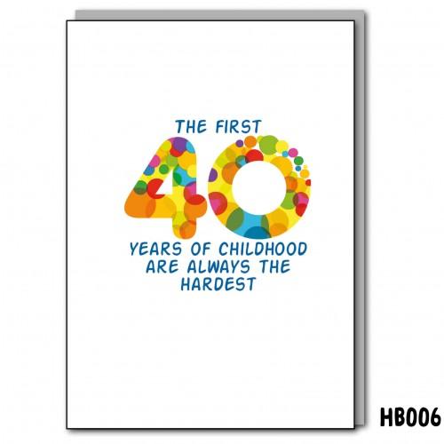 40 - Childhood