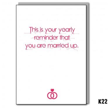 Yearly Reminder